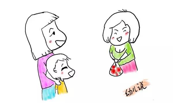 你的孩子属于哪一种? 小南妈妈的同事张阿姨来作客,小南妈妈在厨房准备饭食,客厅里只有小南和张阿姨。张阿姨拿起桌上的糖果给小南吃,小南虽然一开始有点害羞,但慢慢地感觉到张阿姨的友善便接受了糖果,小南高兴地拿自己的玩具送给张阿姨没多久,客厅传来快乐的欢笑声。 小希家里来了表舅,小希妈妈在房间收拾旧衣物,打算让表舅带回去。小希坐在沙发上,旁边的表舅拿起了一个水果给小希吃,小希嘟着嘴巴说:不要!表舅拿着旁边的玩具想跟小希玩,被小希一把抢了过来:不能拿我的玩具。表舅有点尴尬,妈妈听到小希的声音,劝说小希